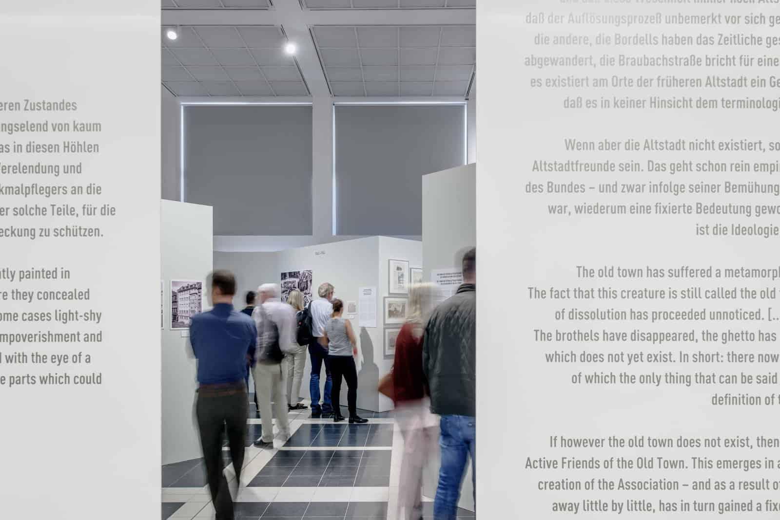 Eindrücke der Ausstellung Die immer Neue Altstadt  Foto: Moritz Bernoully