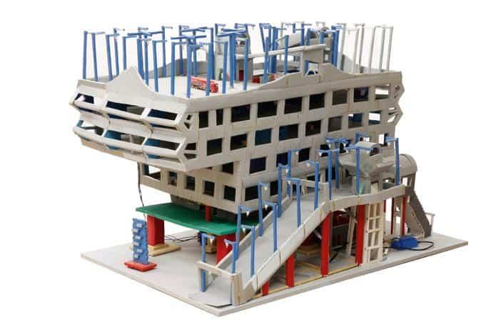 Zukunftsstadt Modell 5 Parkhaus \ Foto: Uwe Dettmar, © DAM und Stefan Häfner