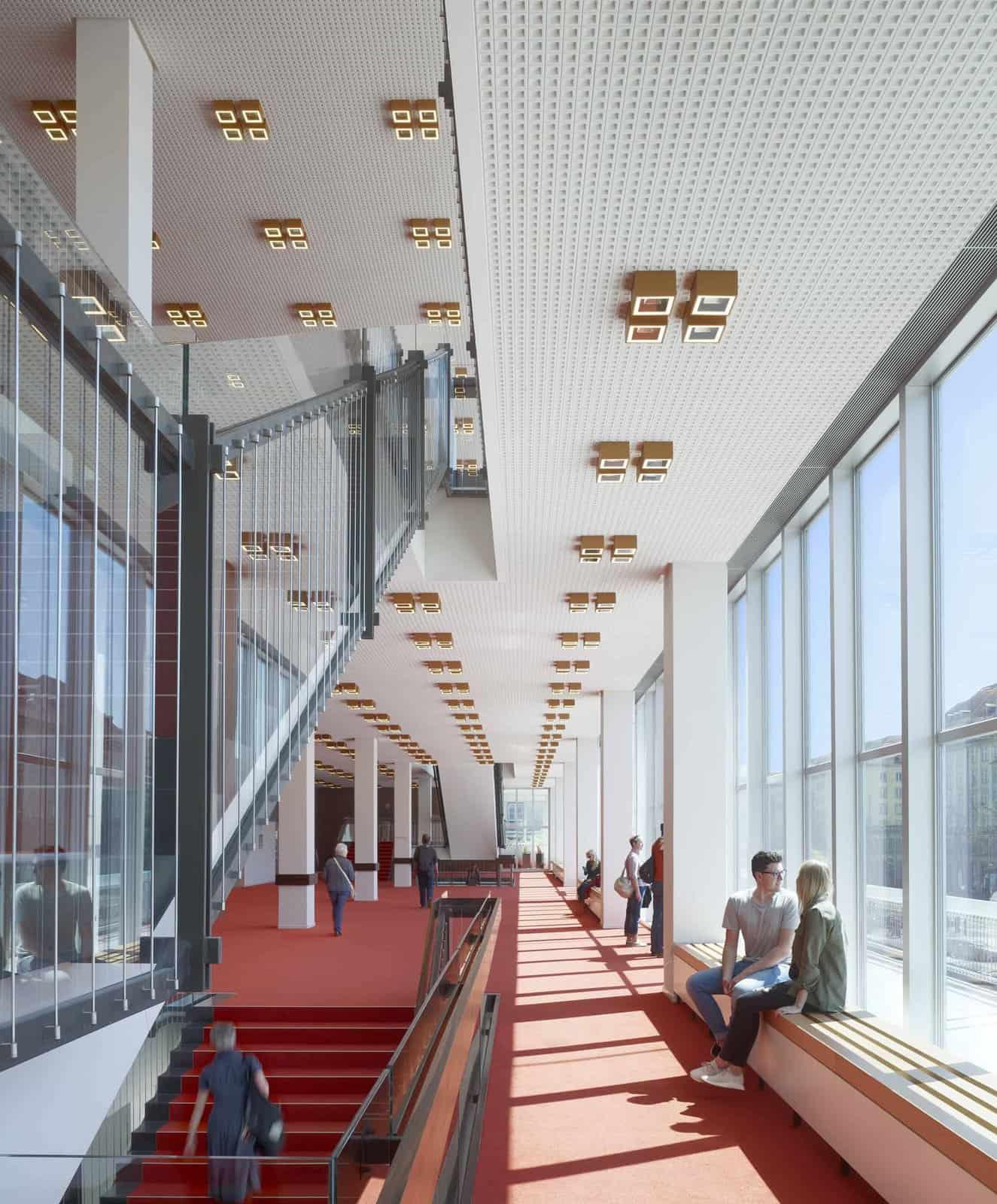 Preisträger DAM Preis 2019, Modernisierung und Umbau Kulturpalast Dresden, gmp Architekten – von Gerkan, Marg und Partner \ Foto: Christian Gahl, gmp Architekten