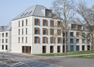 DAM Preis 2020 Shortlist – Architekten Wannenmacher und Möller  Wohn- und Geschäftshausensemble
