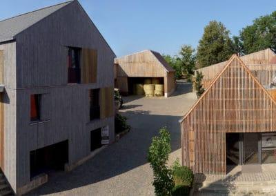 DAM Preis 2020 Shortlist – Dürschinger Architekten  Wiederaufbau Hofstelle Stiegler