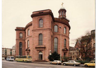 Paulskirche mit Mattglasfenstern (1966)
