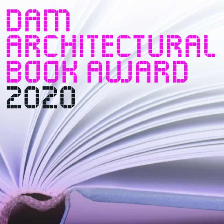 Auslobung: DAM Architectural Book Award 2020