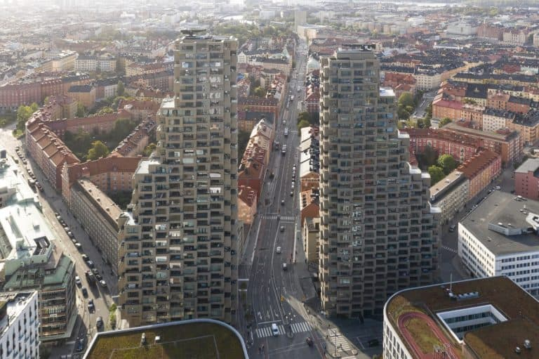 Residential Tower 'Norra Tornen' in Stockholm wins the International Highrise Award 2020