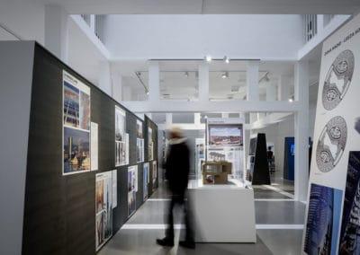 Ausstellung International Highrise Award 2020 I © Moritz Bernoully