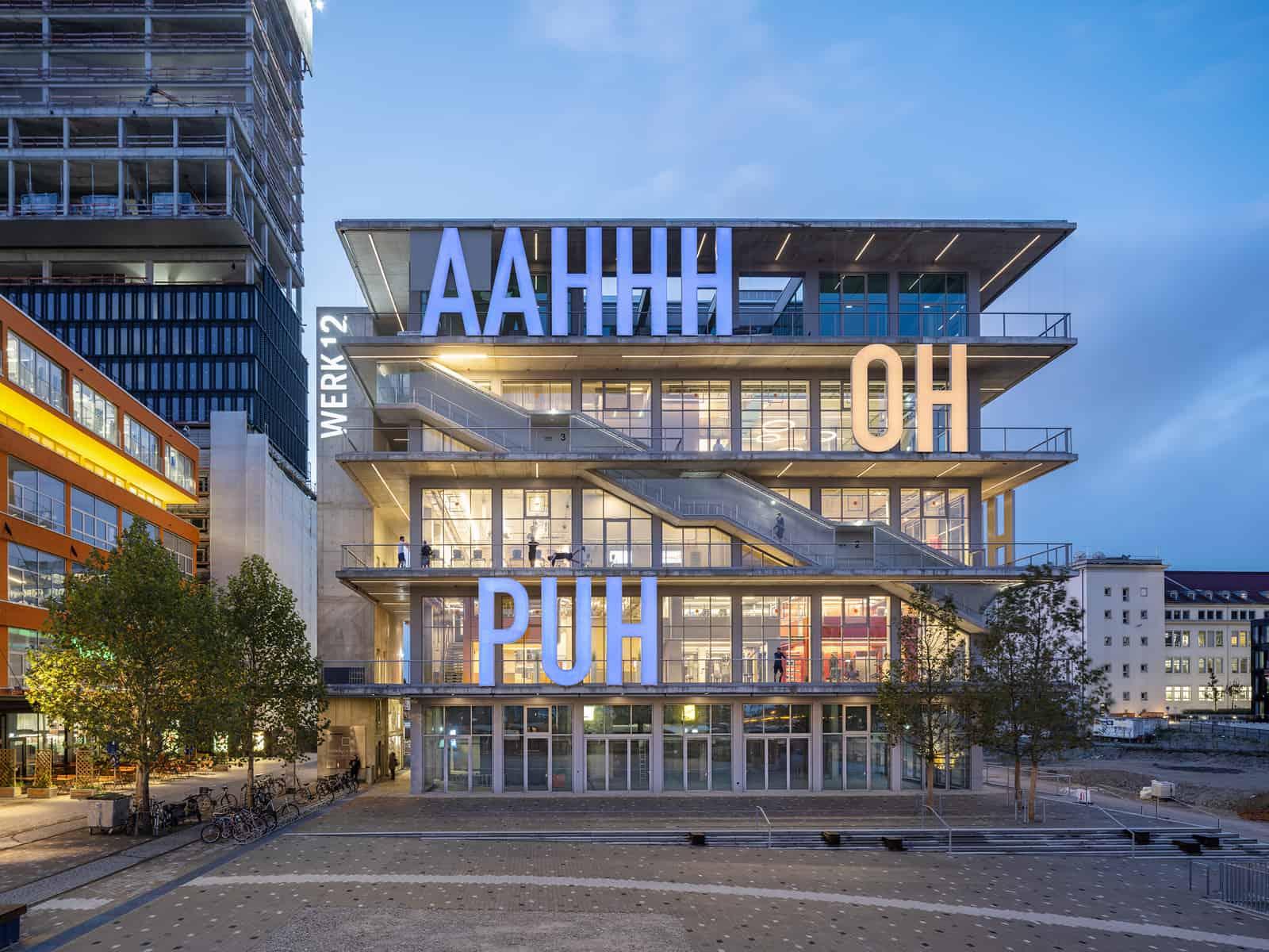 ARGE MVRDV & N-V-O NUYKEN VON OEFELE ARCHITEKTEN Werk 12, München I @ Ossip van Duivenbode @