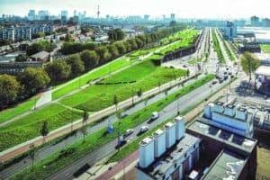Dakpark Buro Sant en Co Rotterdam, Niederlande, Foto: Stijn Brakkee
