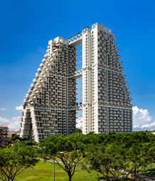 Sky Habitat © Foto: Safdie Architects, Edward Hendricks